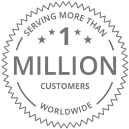 Now serving over 1 million customers worldwide